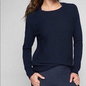Athleta Daybreak Cya Sweater Navy size XXS